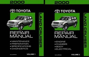 image is loading 2000-toyota-land-cruiser-shop-service-repair-manual-