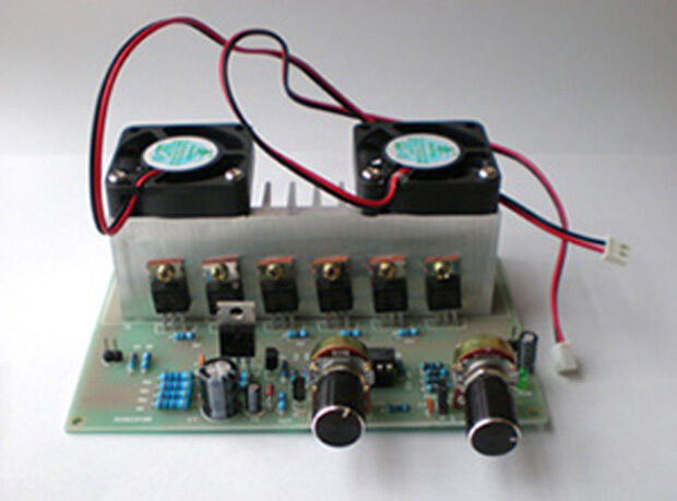 12-30V 50A DC Motor Speed Controller With Cooling Fans