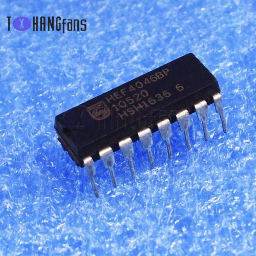 2PCS//10PCS HEF4046BP DIP-16 HEF4046,652 IC PHASE-LOCK LOOP MCPWR PHILIPS
