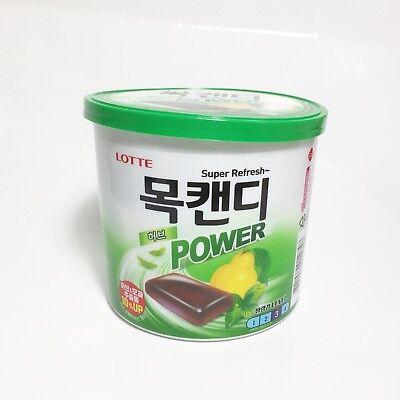 Refresh Throat 137g Korean Lotte Herb Mok Candy Throat Lozenge For Bad Breath