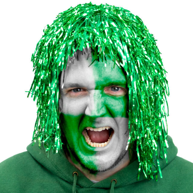 5//10//15//20//25 Tinsel Wigs Choose From 6 Colours Foil Fancy Dress Costume Party