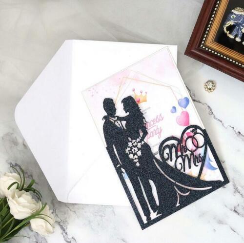 Hochzeit Metall Stencil Cutting Dies Scrapbooking Stanzschablone Cutter Schimmel