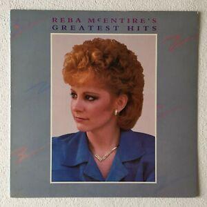 REBA-McENTIRE-REBA-McENTIRE-039-S-GREATEST-HITS-1987-UK-10-TRACK-VINYL-LP-RECORD