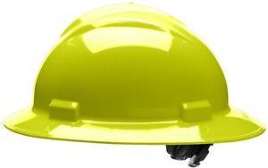 Bullard Full Brim Hard Hat with 4 Point Ratchet Suspension a54b9d7cd