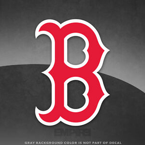Boston Red Sox Logo Vinyl Decal Sticker MLB And Larger Sizes - Custom vinyl decals boston