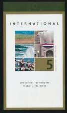 Kanada Markenheftchen Tourist Attractions postfrisch / ** (38771)