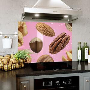 Constructif Flying Nuts Rose Fond Verre Splashback Cuisine & Salle De Bains Toute Taille 0437-afficher Le Titre D'origine Pour Revigorer Efficacement La Santé