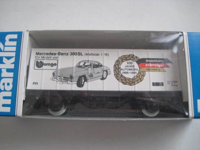 Marklin Scala H0 4481-86506 Db- Mercedes-Benz 100 Jahre Automobil Modellbahn