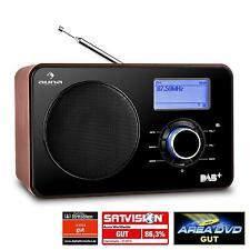 AUDIO VINTAGE INTERNET RADIO DAB+ NETZ WERK PLAYER WLAN WI-FI USB BOX LCD UHR