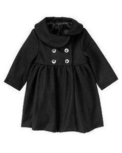 GYMBOREE-HOLIDAY-CELEBRATIONS-BLACK-GEM-BUTTON-WOOL-COAT-6-12-2-3-4-5-NWT