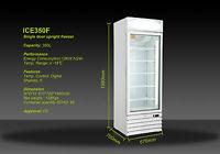 Ice350f 350lt 1 Door Commercial Deli Display Freezer 670(w)700(d)1980(h)mm