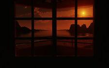 Incorniciato stampa-guardare le finestre al Rising Sun (foto poster arte)