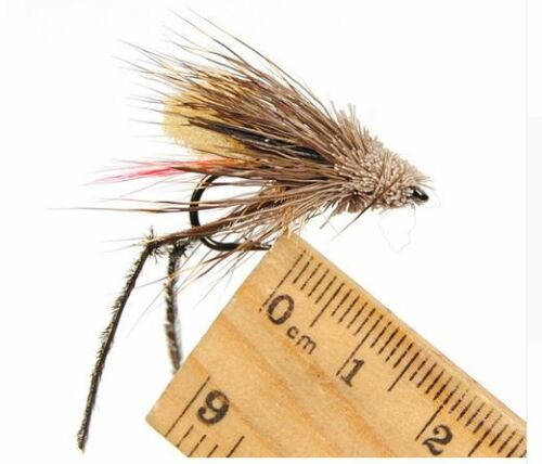 Fishing Fish Lures Bulk Hopper Made Fly Bug Trout Bass Dry Flies Tied Hand Grass