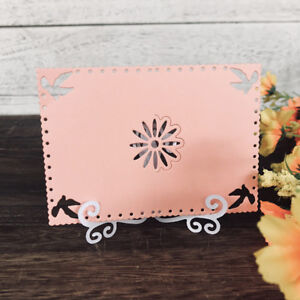 Card Stand Easel Design Metal Cutting Die For DIY Scrapbooking Album Paper_S
