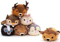 Disney Store Bambi Tsum Tsum Plush Set Of 7 Mini 3 ½ The Bambi Collection