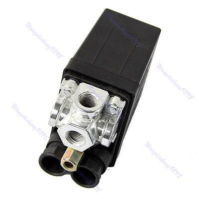 Air Compressor Pump Pressure Switch Control Valve Replacement Part 175PSI 230V