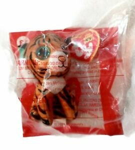 NIP McDonald's 2021 TY Beanie Baby Boo's #13 Tiggs the Tiger