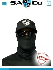 Salt Armour Black Tactical Face Shield Mask