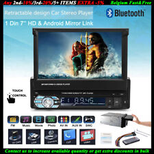 "7"" HD 1 Din Autoradio USB/SD/AUX/EQ/FM/TFT Touch Screen Bluetooth FM Lettore MP5"
