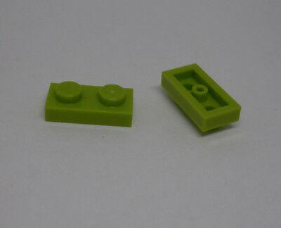 Lego 250 x 2er flach Eckplatte 1 x 2 Baustein Zweier hellrosa Kleinteile Neu