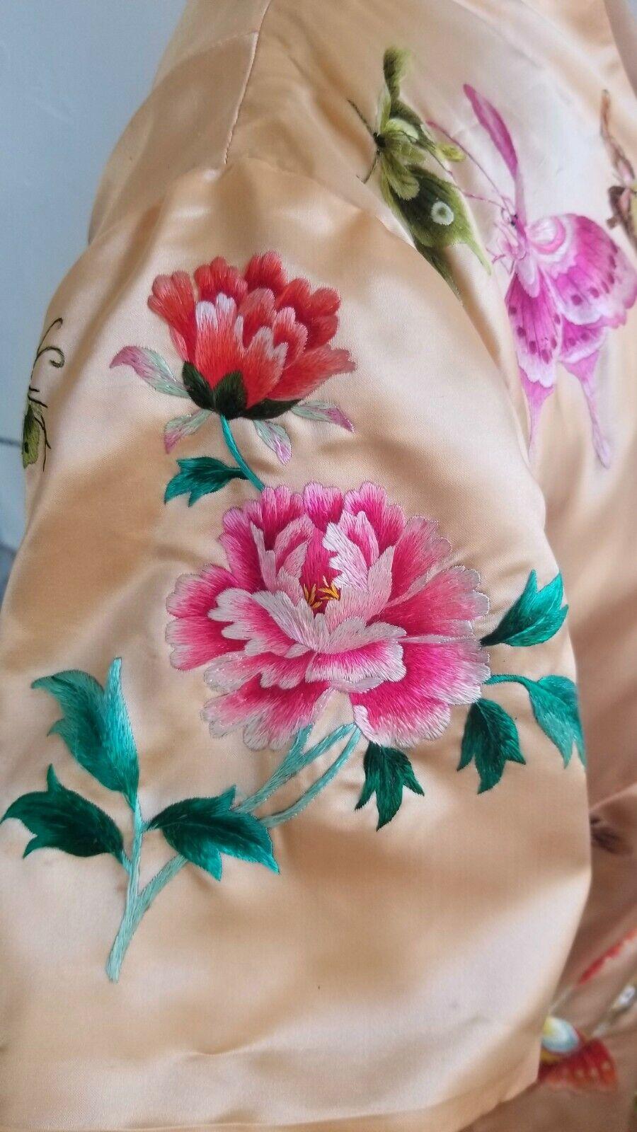 Handmade silk Qipao style dress - image 5