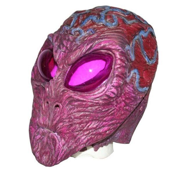 Purple Zemok Space Alien Adult Glow In The Dark Mask