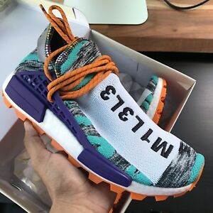 4d4fe8efe Adidas Pharrell Human Race SOLAR HU NMD Afro Pack Black Red BB9528 ...
