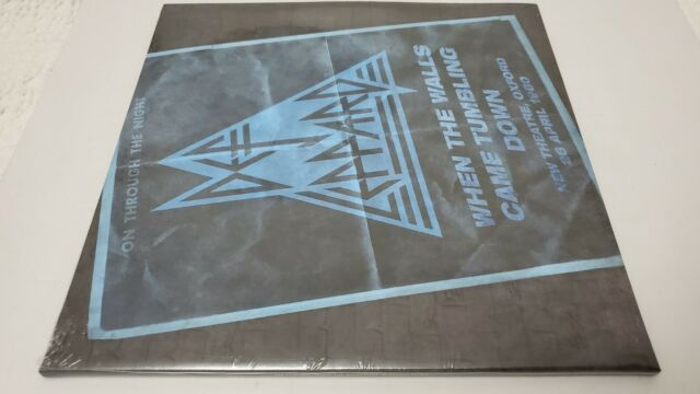 DEF LEPPARD WHEN THE WALLS CAME TUMBLING DOWN BRAND NEW SEALED LIMITED EDITION