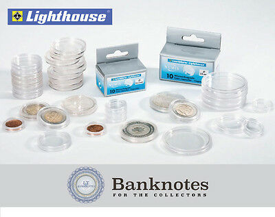 Quarter Coin Capsules Direct Fit 24.3mm Top Quality 100 Kointain Safe Storage