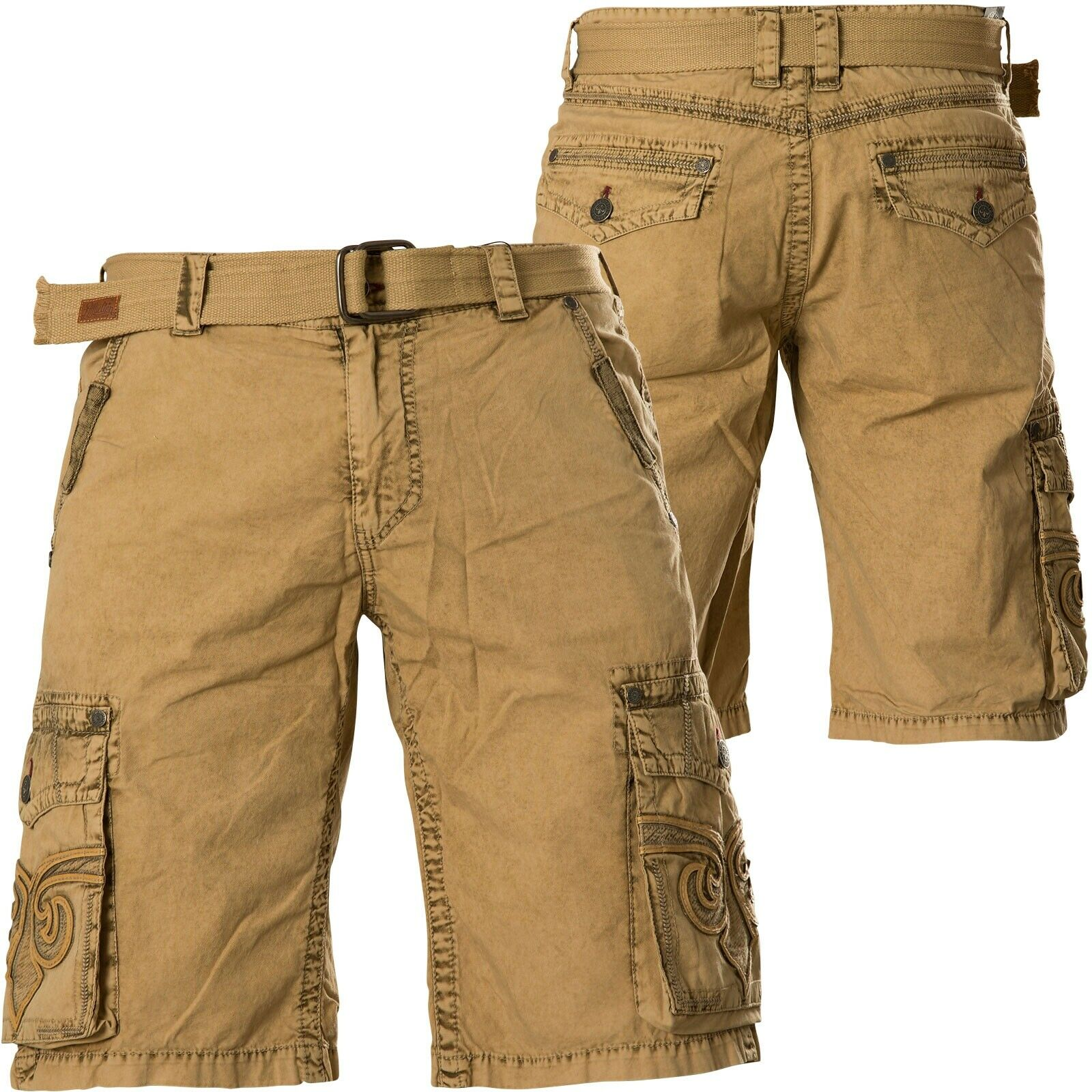 AFFLICTION Shorts Revival Cargo Beige