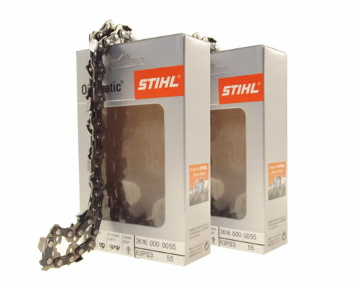 2x30cm Stihl Picco Super Kette für Stihl 018 Motorsäge Sägekette 3//8P 1,3