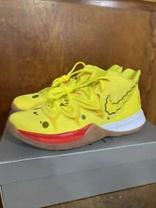 "Details about NEW Nike Kyrie 5 ""Spongebob Squarepants"" Men's Size 10  (CJ6951 700)"