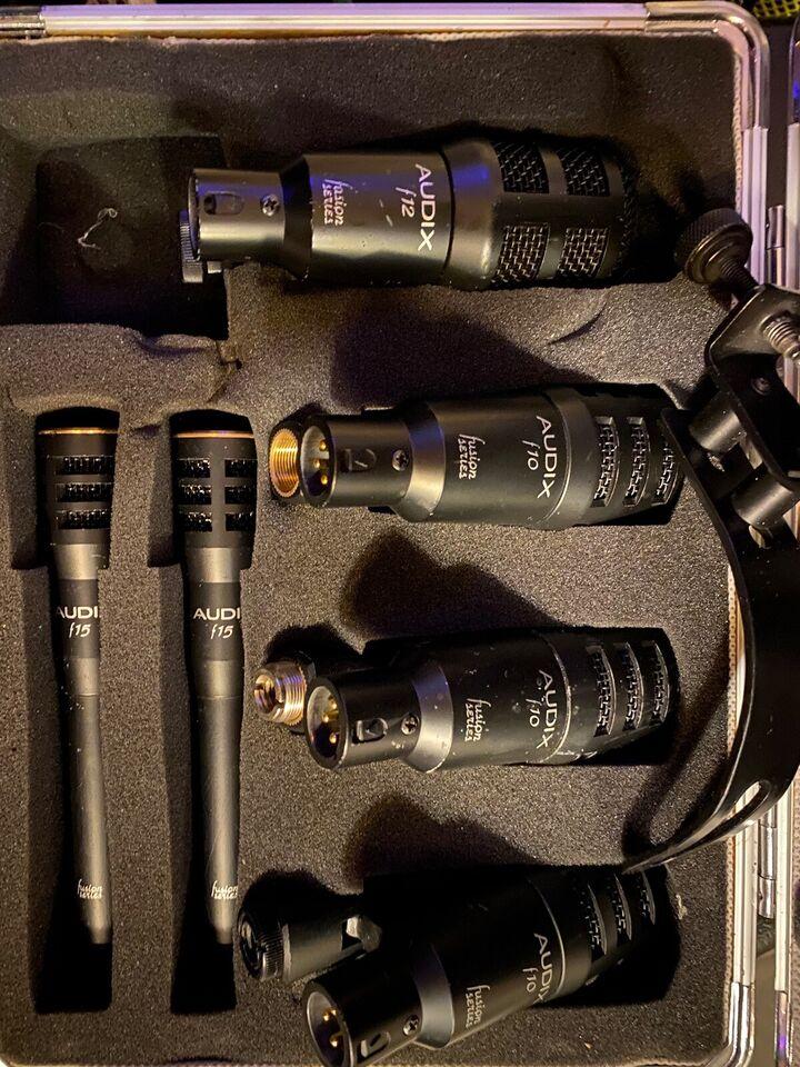 Drum mics Audix fusion 6