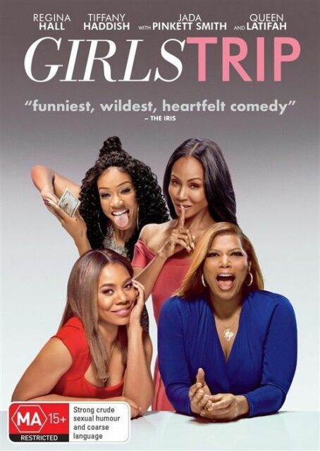 GIRLS TRIP (REGION 4 DVD) *New & Sealed* 🎬