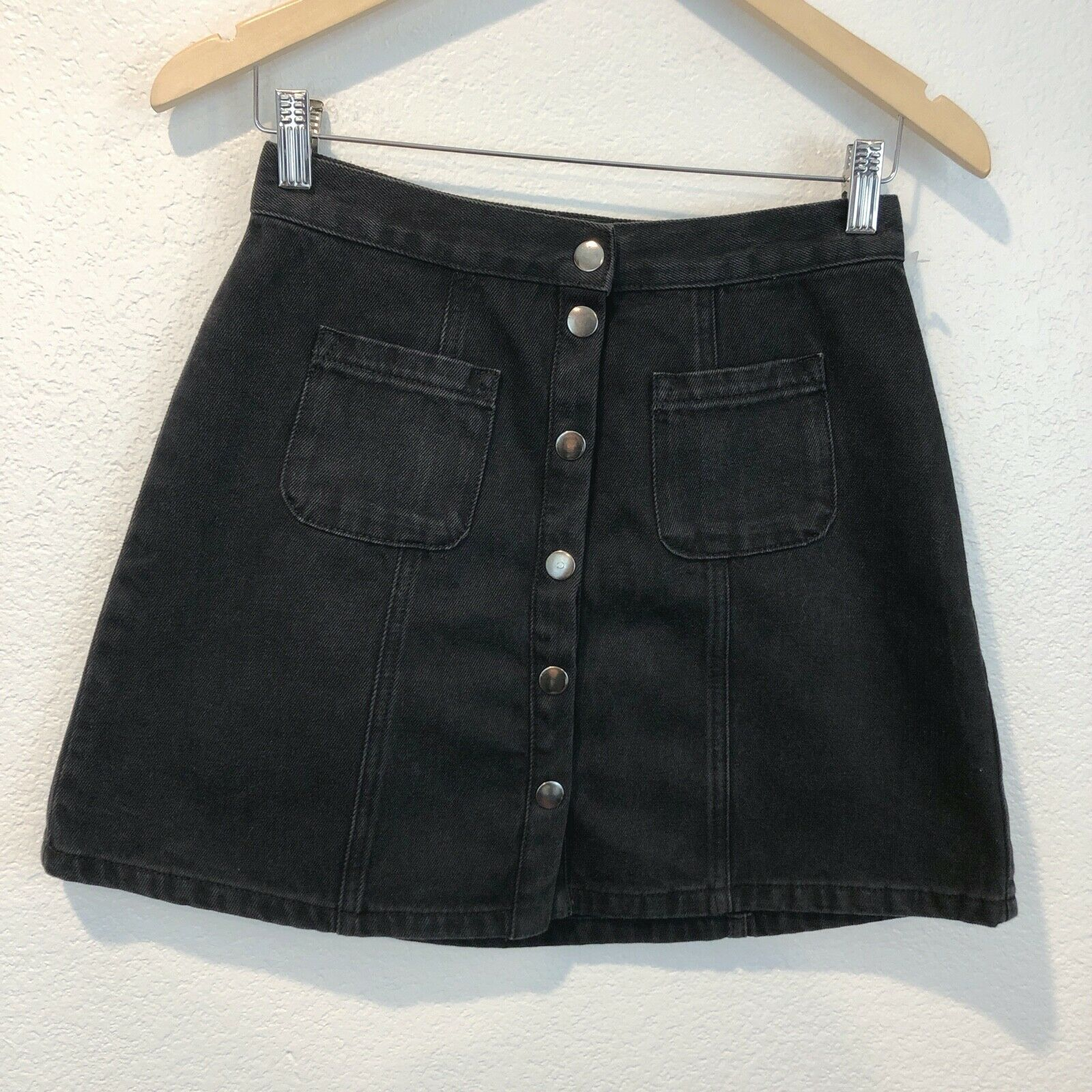 Urban Outfitters BDG Women's Size small Black Den… - image 2
