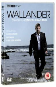 Wallander-Series-One-1-Kenneth-Brannagh-BBC-GB-2008-2-Caja-de-Discos-DVD-Nuevo