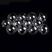 Seekingtag Clear Diy Fillable Plastic Ball Craft Ornaments 80mm Pack Of 10, New, on Sale