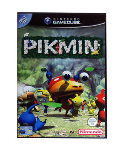 1 of 1 - Pikmin (Nintendo GameCube, 2002) - European Version INC INSTRUCTION BOOKLET.