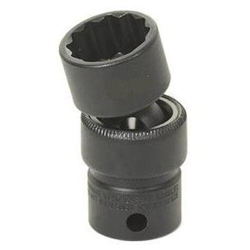 """Grey Pneumatic 1116U 3//8/"""" Drive x 1//2/"""" Standard Universal 12 Point Socket"""