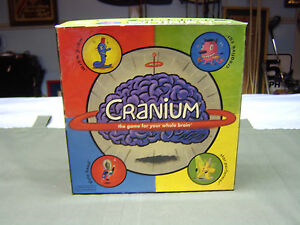 CRANIUM-the-game-for-your-whole-brain-good-condition-except-for-Dry-Clay