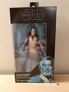 "Star Wars 6"" in Black Series Walgreens Exclusive Spirit of Obi Wan Kenobi"
