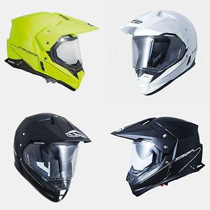 Casco-MT-Helmets-Synchrony-Duo-Sport-Solid-Offroad-Cross-XS-S-M-L-XL-XXL