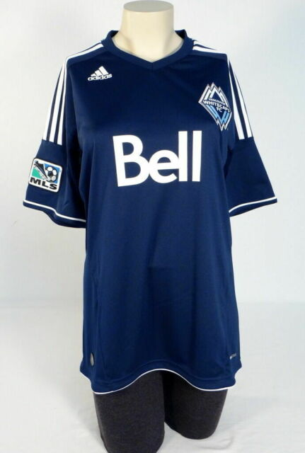new product 19d08 1d5ad Women's MLS adidas Vancouver Whitecaps F.c. Soccer Jersey L P10025