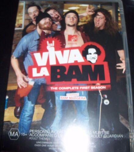 1 of 1 - Viva La Bam Complete First Season 1 (Australia Region 4) DVD – New