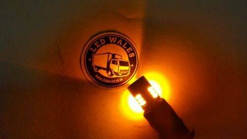 24v WHITE T10 w5w LED Wedge Base Bulb for Scania Volvo MAN Trucks
