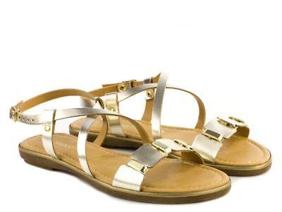 Marco Tozzi Women's 28141 28 Strappy Open Toe Sandals In Platinum   eBay