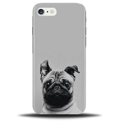 watch 7db69 28f0f Funny Black and White Pug Phone Case Cover | Pet Dog Dogs Puppy Pugs C129 |  eBay