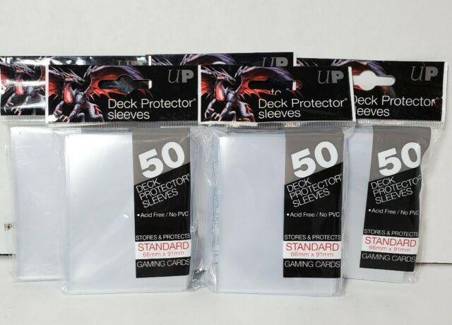 Protege Carte Transparent *50 Ultrapro Magic 66 x 91 mm Deck Protector