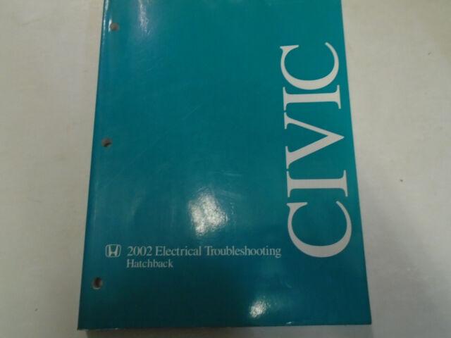 2002 Honda Civic Hatchback Hatch Back Electrical Wiring
