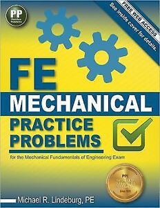 Fe mechanical practice problems by pe michael r lindeburg 2014 stock photo fandeluxe Images